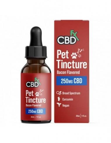 CBDfx Pet CBD Tincture - CBD Oil For Dogs & Cats Small Breed 30ml 250mg 1pcs:0 US
