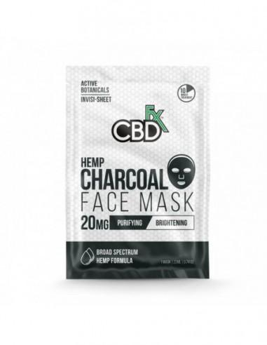 CBDfx Topical CBD Face Mask Charcoal 22ml 20mg 1pcs:0 US