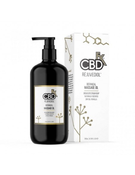 CBDfx Topical Rejuvediol CBD Massage Oil 200ml 500mg 1pcs:0 US