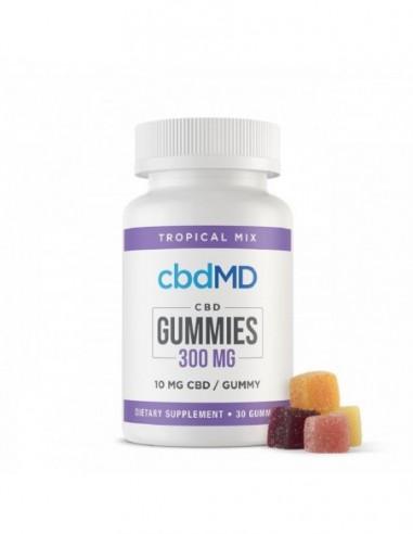 cbdMD Edible CBD Gummies 30 Count 300mg 1pcs:0 US
