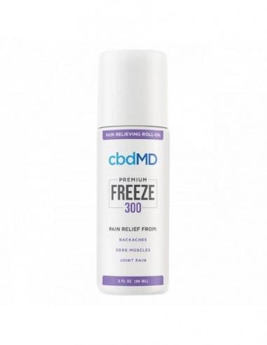 cbdMD Topical CBD Freeze Cold Therapy Gel 3oz Roller 300mg 1pcs:0 US