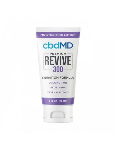 cbdMD Topical CBD Revive Moisturizing Lotion 2oz Suqeeze 300mg 1pcs:0 US