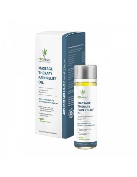 CBDMEDIC Topical CBD Massage Therapy Pain Relief Oil 3.5oz 200mg 1pcs:0 US