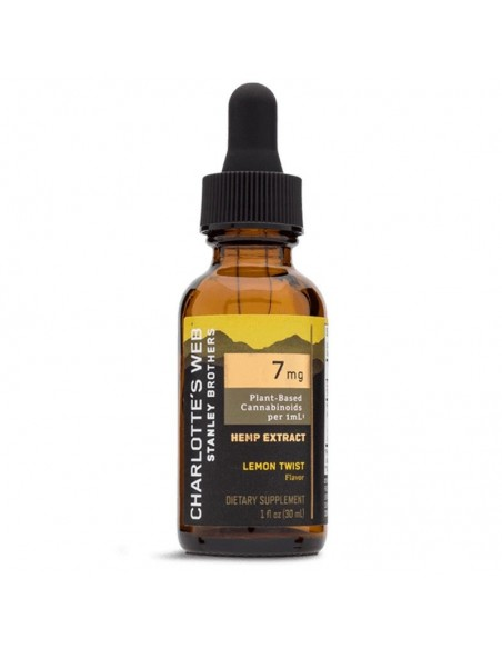 Charlotte's Web CBD Tincture Full Spectrum Lemon Twist 30ml 7mg 1pcs:0 US