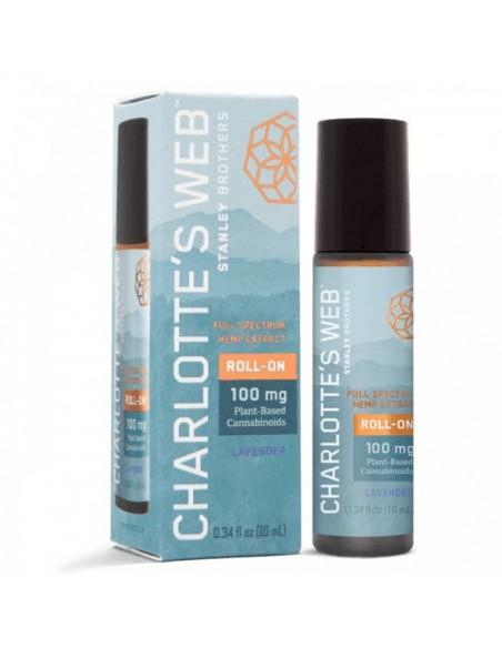 Charlotte's Web Topical CBD Roll-On Full Spectrum Lavender 10ml 100mg 1pcs:0 US