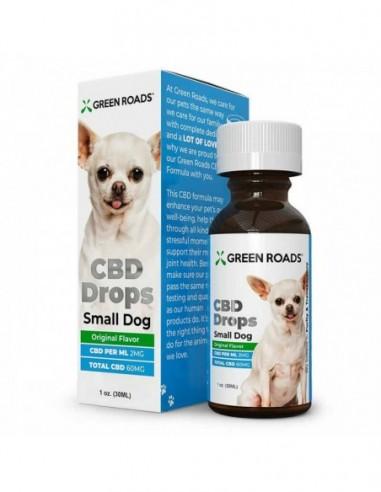Green Roads Pet CBD Drops Dog Formula Original 30ml 60mg 4pcs:0 US