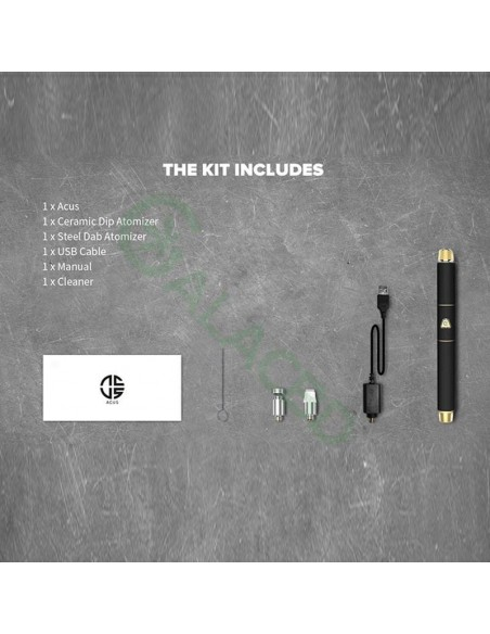 Dazzvape Acus Wax Vaporizer/Dab Pen Kit For Concentrate 350mAh 4