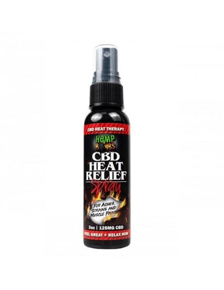 Hemp Bombs Topical CBD Heat Spray 2oz 125mg 1pcs:0 US