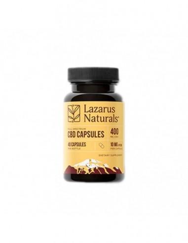 Lazarus Naturals CBD Capsules Full Spectrum 10 Count 100mg 1pcs:0 US