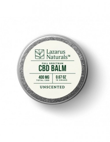 Lazarus Naturals Topical CBD Balm Unscented 0.5oz 300mg 1pcs:0 US