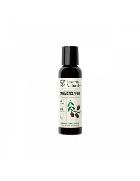 Lazarus Naturals Topical CBD Massage Oil 2oz 200mg 1pcs:0 US