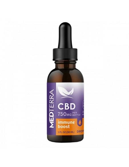 Medterra CBD Tincture Immune Boost Isolate 30ml 750mg 1pcs:0 US