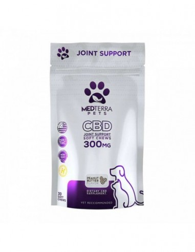 Medterra Pet Edible CBD Joint Support 30 Count 300mg 1pcs:0 US