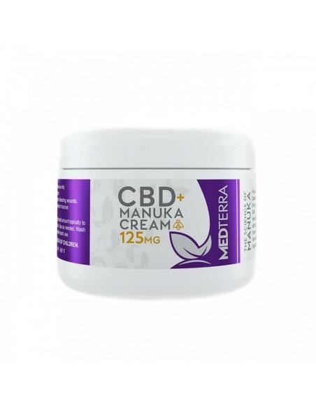 Medterra Topical CBD Manuka Cream 1oz 125mg 1pcs:0 US