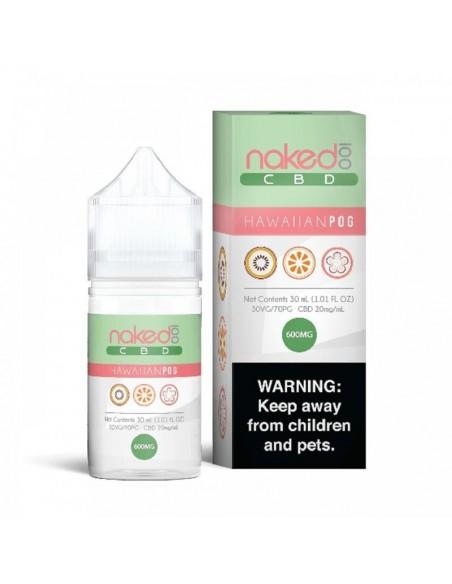 Naked 100 CBD Vape Juice Hawaiian Pog 30ml 600mg 1pcs:0 US