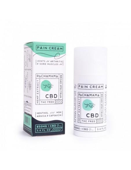 Pachamama Topical CBD Pain Cream 3.4oz 850mg 1pcs:0 US