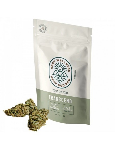 Root Wellness Hemp Flower Bud Bag 4g 15.39% of CBD 1pcs:0 US
