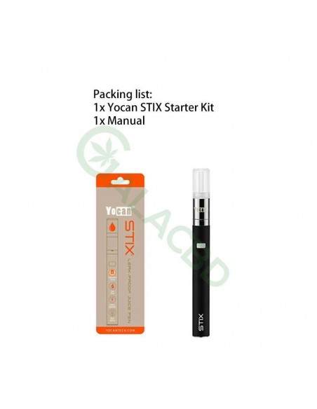 Yocan STIX Vape Pen Kit For E-juice 320mAh With Ceramic Coil 1