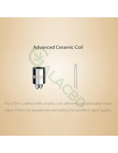Yocan STIX Vape Pen Kit For E-juice 320mAh With Ceramic Coil 5