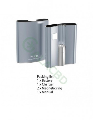 BBTANK Flask 510 Thread Battery For CBD Oil/THC/Wax 200mAh