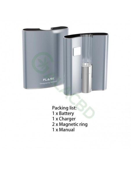 BBTANK Flask 510 Thread Battery For CBD Oil/THC/Wax 200mAh 1