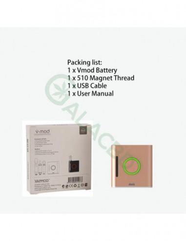 VAPMOD Vmod 510 Thread Battery For CBD Oil/THC/Wax 510 Cartridge 900mAh