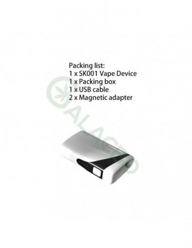 Vapor Source SK001 510 Thread Battery Mod For CBD Oil/THC/Wax 510 Cartridge  650mAh