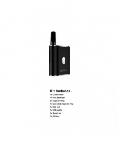 Airistech Airis Qute Wax Vaporizer For Concentrate/Dabs 450mAh Black:0 US