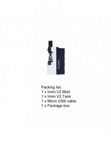 Imini V2 Pro Vape Pen Kit 510 Thread Battery For CBD Oil/THC/Wax 650mAh White:0 US