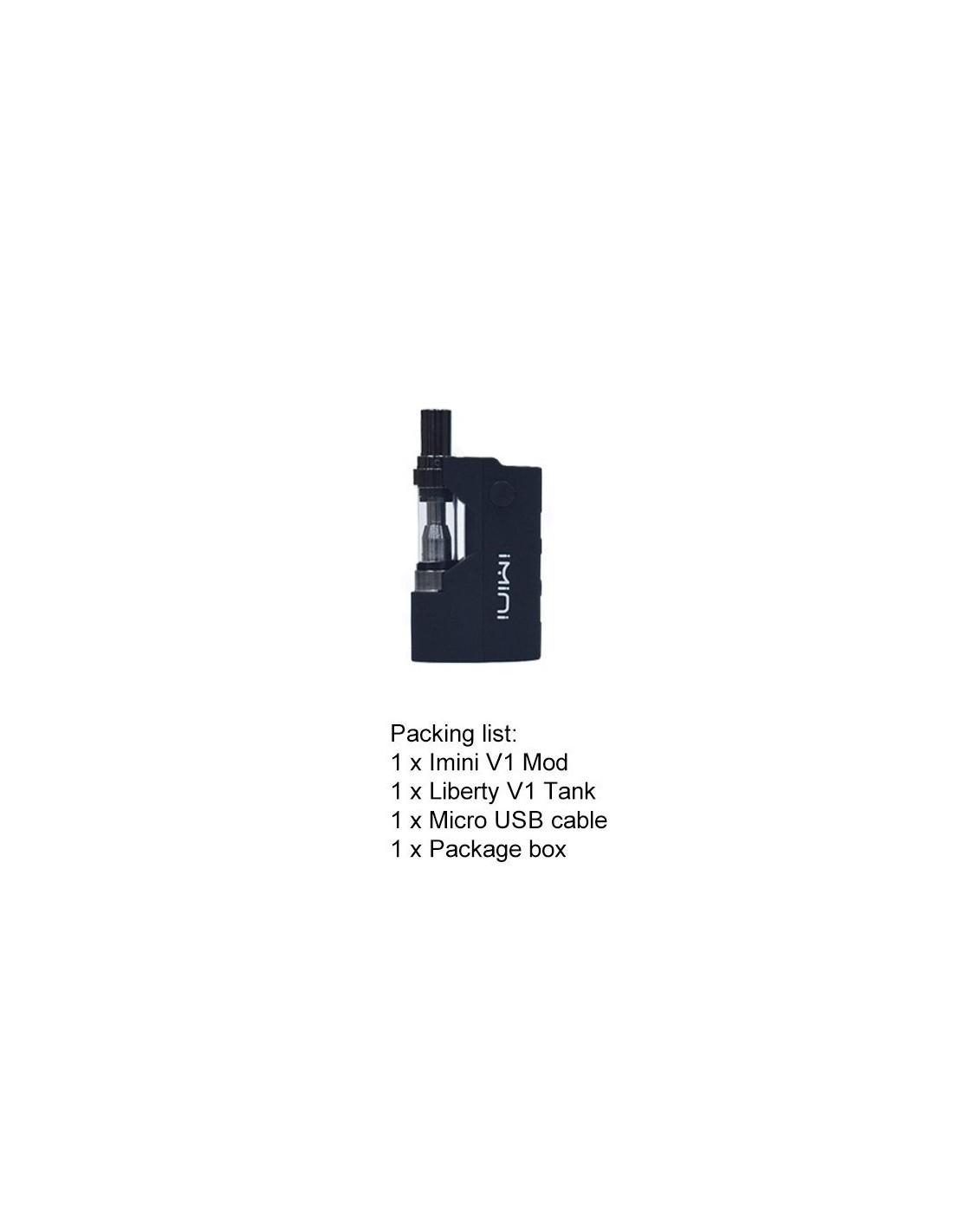 Imini V1 Vape Starter Kit 510 Thread Battery For CBD Oil/THC