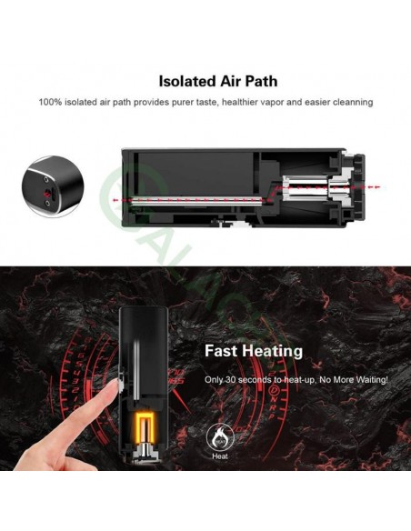 Airistech Herborn Dry Herb Vaporizer For Weed 2200mAh 3