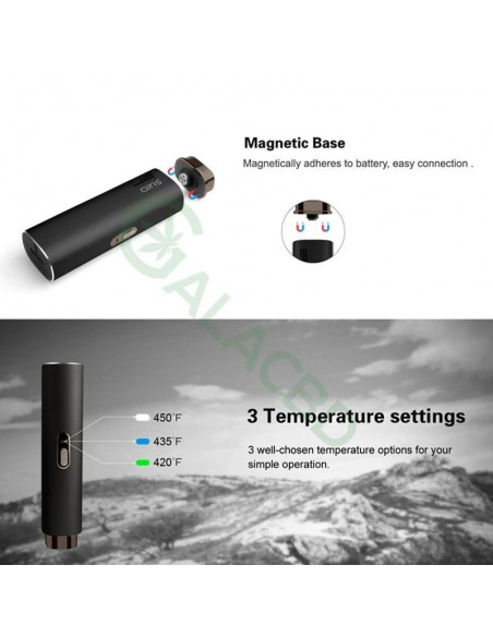 Airistech Herborn Dry Herb Vaporizer For Weed 2200mAh 4