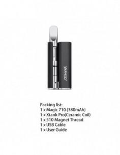 VAPMOD Magic 710 Mod Starter Kit For CBD Oil/THC/Wax 510 Cartridge 380mAh