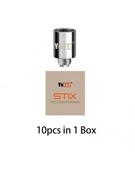 Yocan STIX Replacement Coil 1.8ohm With Ceramic Material STIX Coil 10pcs:0 US
