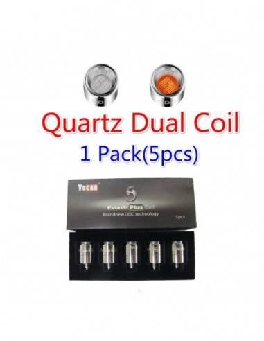 Yocan Evolve Plus Replacement Coil QDC/CDC Coil QDC Coil 5pcs:0 US