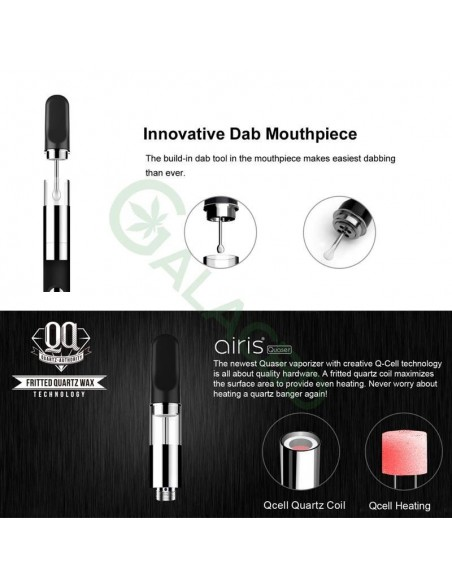 Airistech Airis Quaser Wax Pen/Dab Pen For Concentrate 350mAh 2