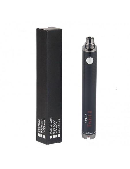 Evod Twist 2 Battery 510 Thread For CBD/E-juice 1600mAh 1
