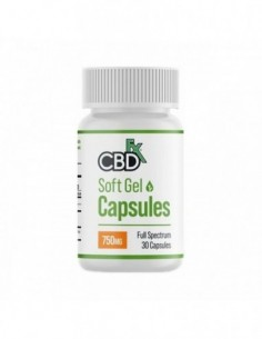 CBDfx CBD Capsules 30 Count Bottle 0