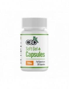 CBDfx CBD Capsules 30 Count Bottle 0