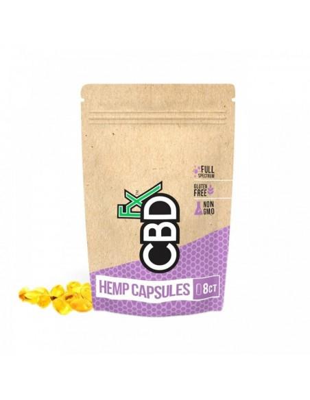 CBDfx CBD Capsules 8 Count Pouch 0