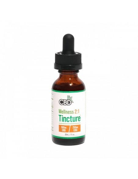 CBDfx CBD Tincture Wellness 2:1 0