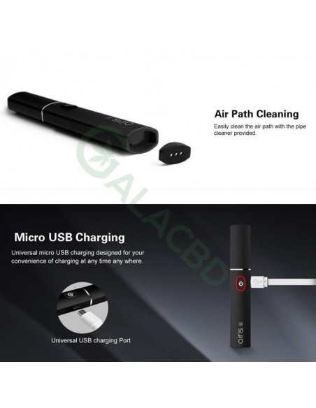 Airistech Airis 8 Vaporizer For Dab/Wax Vape 2in1 Dip/Dab Heating 5