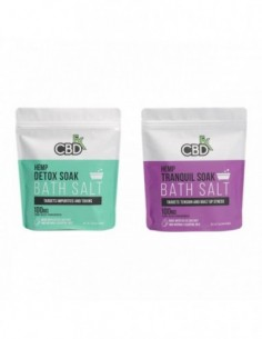 CBDfx Topical CBD Bath Salt 0