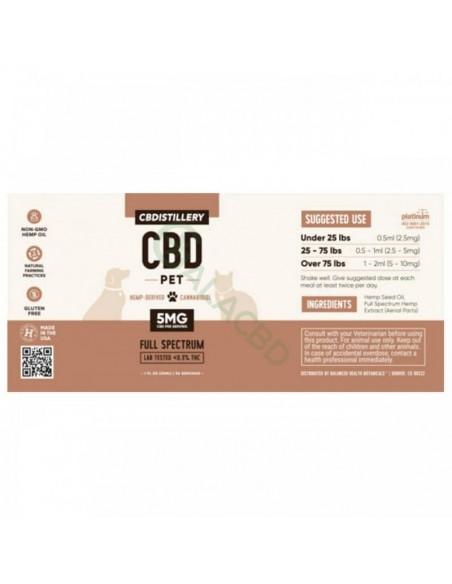 CBDistillery Pet CBD Tincture 1