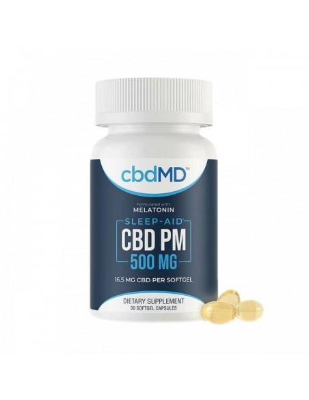 cbdMD Capsules CBD PM Softgels 0