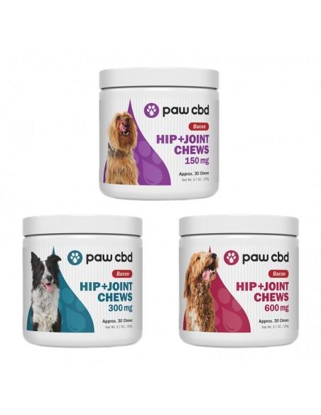 cbdMD Paw CBD Pet CBD Hip & Joint Soft Chews For Dogs 0