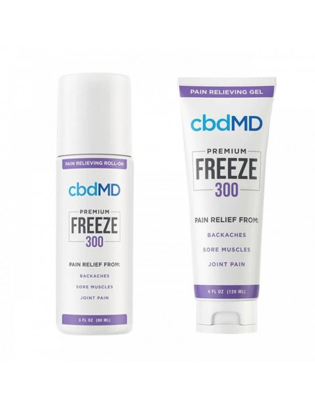 cbdMD Topical CBD Freeze Cold Therapy Gel 0