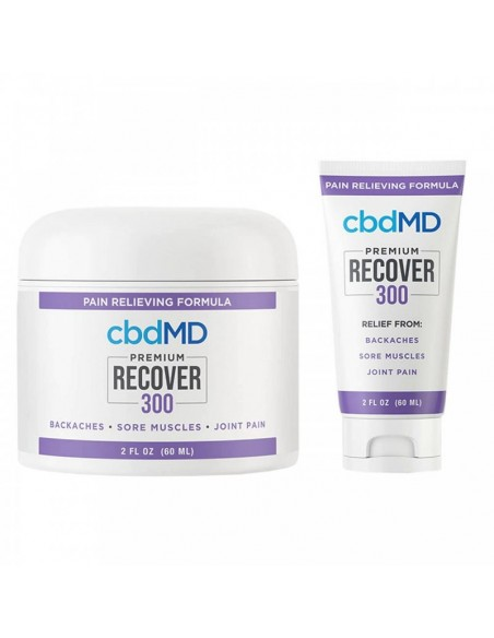 cbdMD Topical CBD Recover Inflammation Cream 0