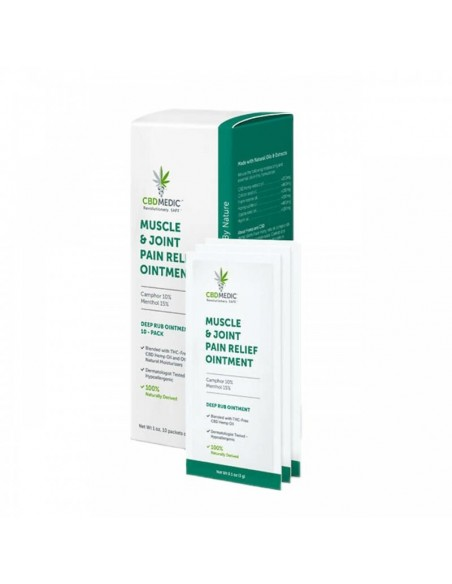 CBDMEDIC Topical CBD Muscle & Joint Pain Relief Ointment 0
