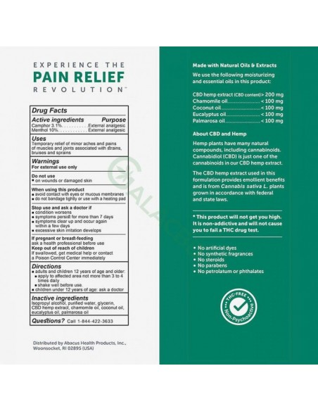 CBDMEDIC Topical CBD Muscle & Joint Pain Relief Spray 1